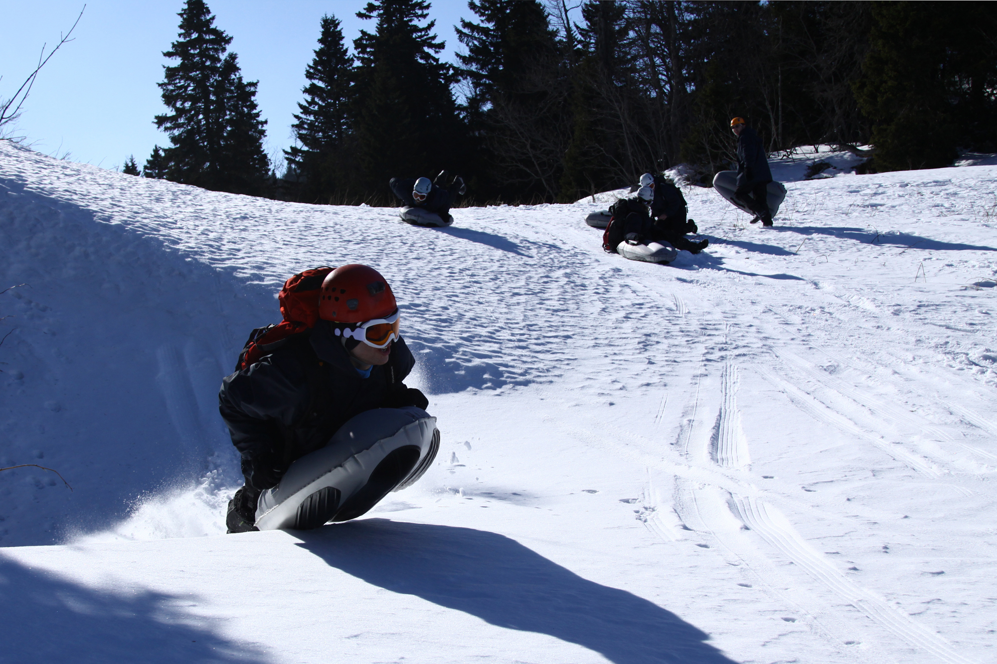 Airboard luge Vercors
